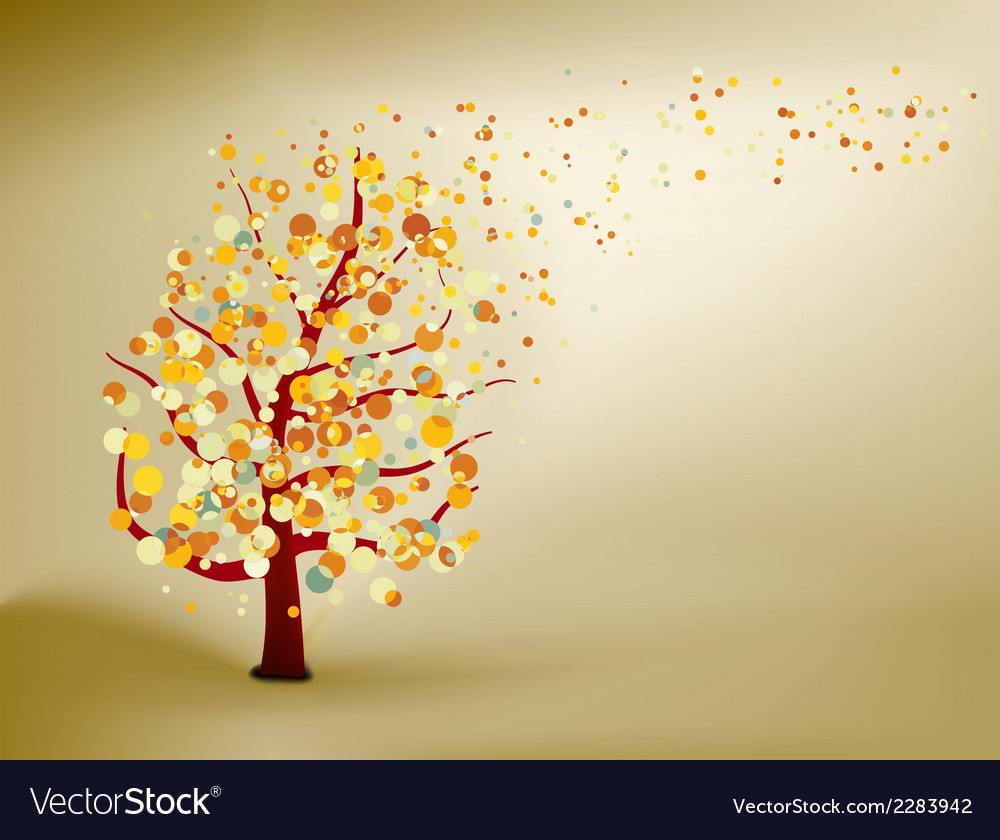 Abstract natural autumn background eps 8 vector | Price: 1 Credit (USD $1)