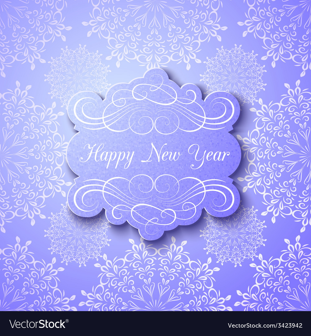 Christmas and new year background greeting card vector   Price: 1 Credit (USD $1)