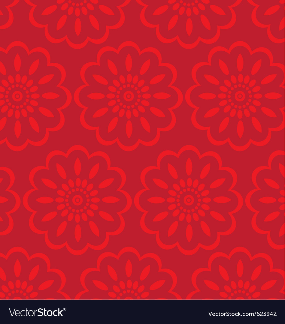 Flower wrapping paper vector | Price: 1 Credit (USD $1)