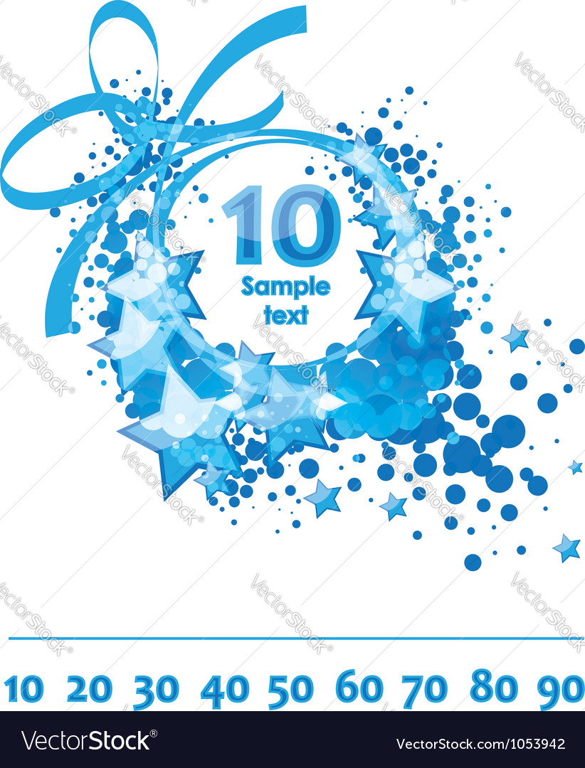 Greetings card congratulatory template vector | Price: 1 Credit (USD $1)