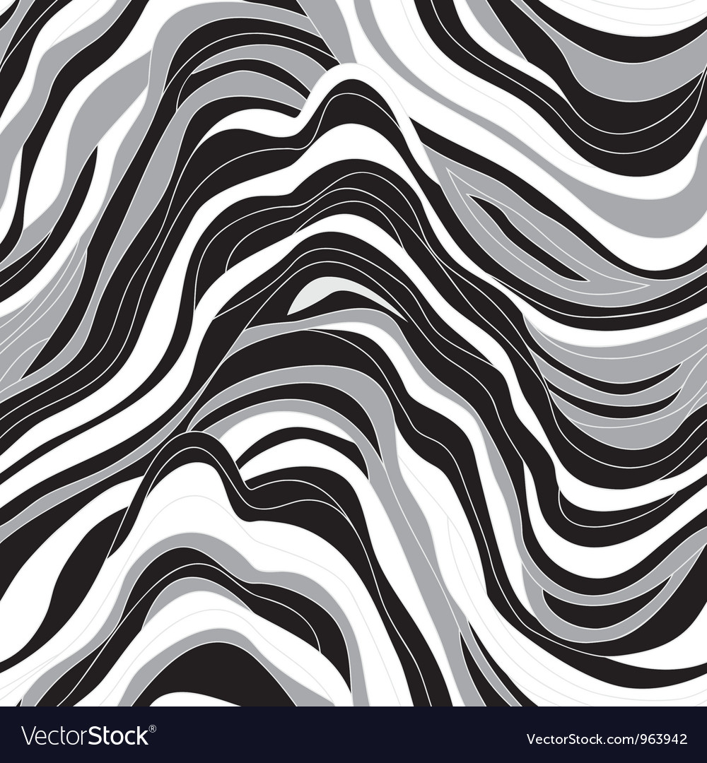 Seamless texture with waves vector | Price: 1 Credit (USD $1)
