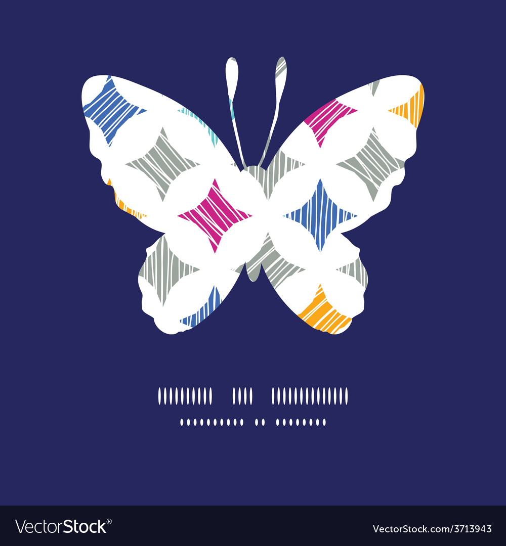 Colorful marble textured tiles butterfly vector   Price: 1 Credit (USD $1)