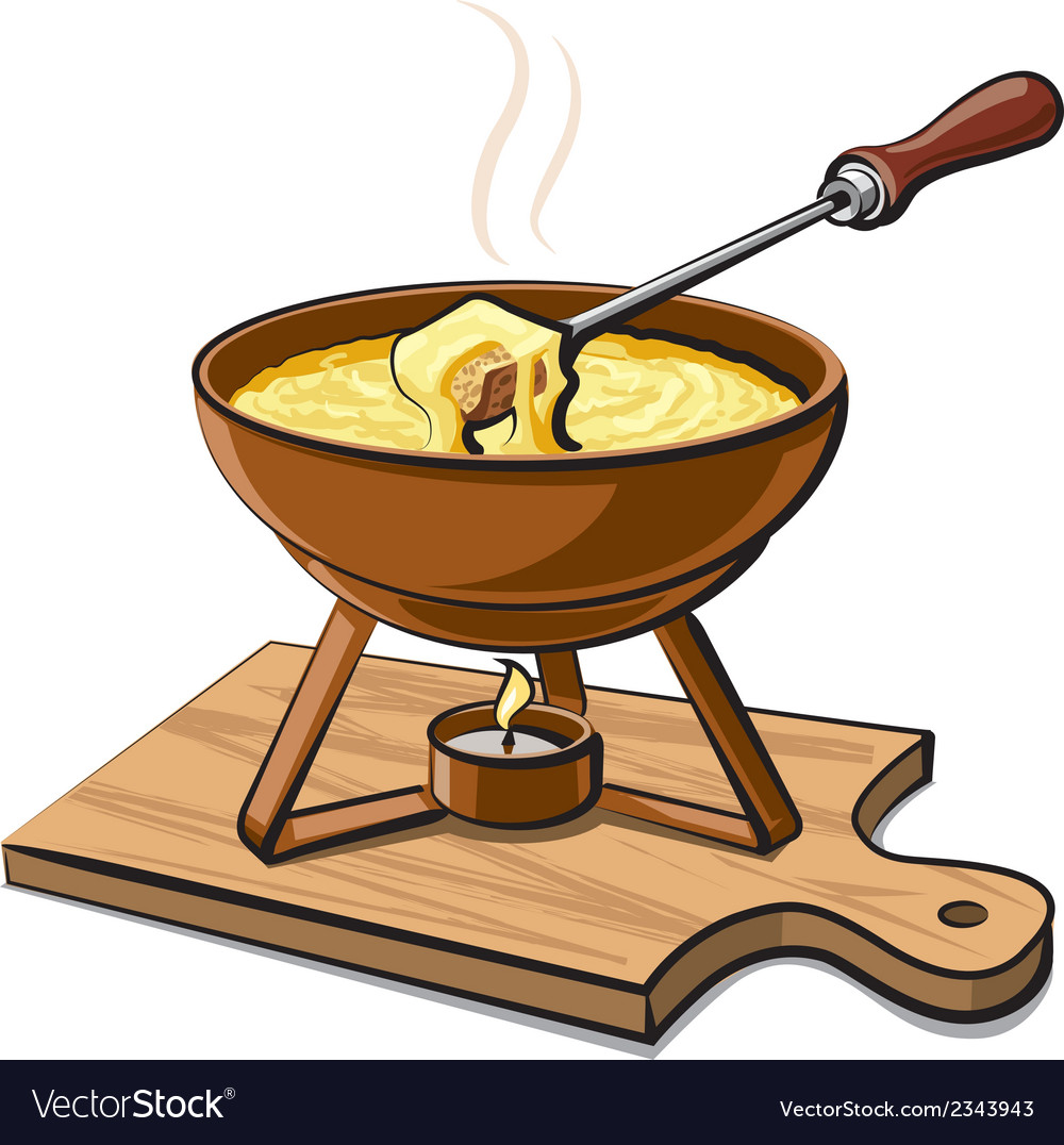 Hot fondue vector | Price: 1 Credit (USD $1)