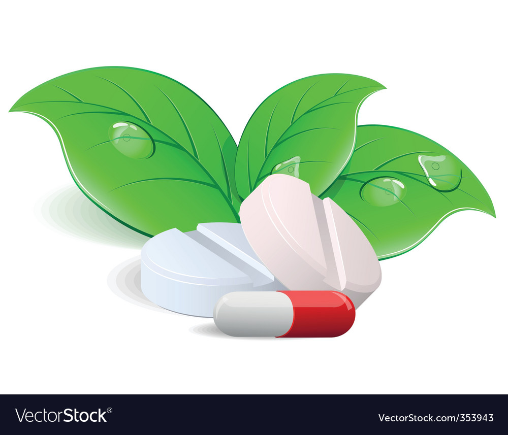 Pills and capsules vector | Price: 3 Credit (USD $3)