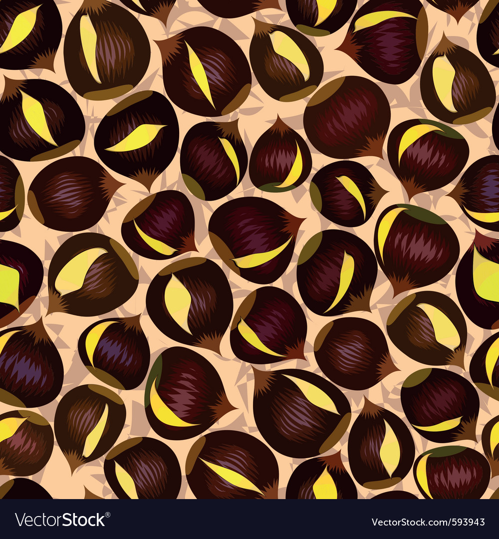 Roasted chestnuts vector | Price: 1 Credit (USD $1)