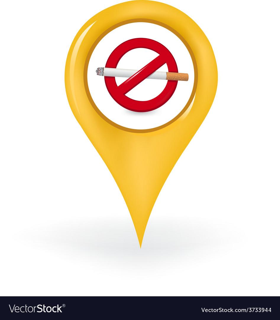 No smoking location vector | Price: 1 Credit (USD $1)