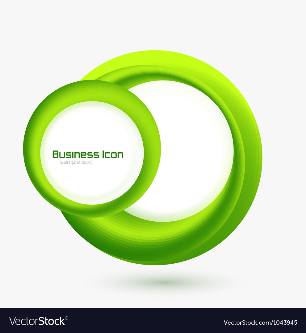 Business ecology swirl concept vector | Price: 1 Credit (USD $1)