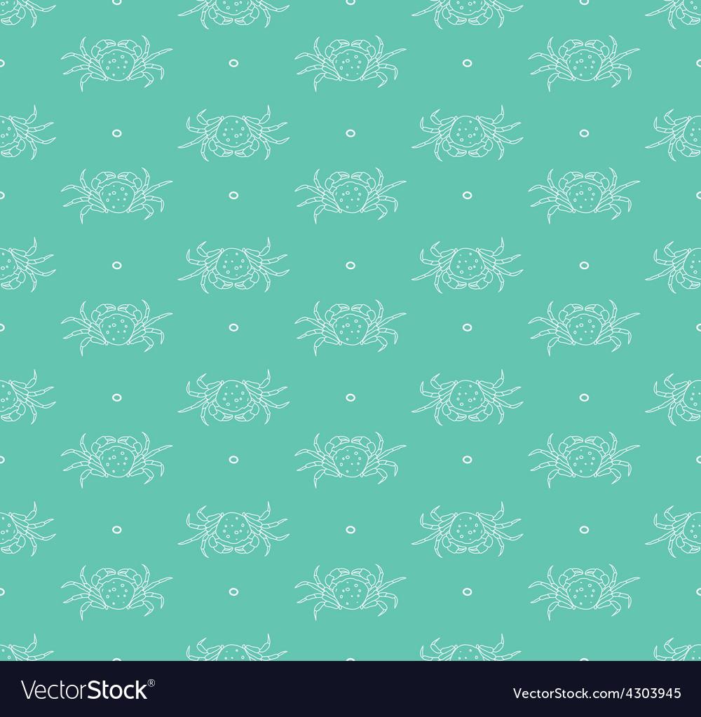 Crabs pattern vector | Price: 1 Credit (USD $1)