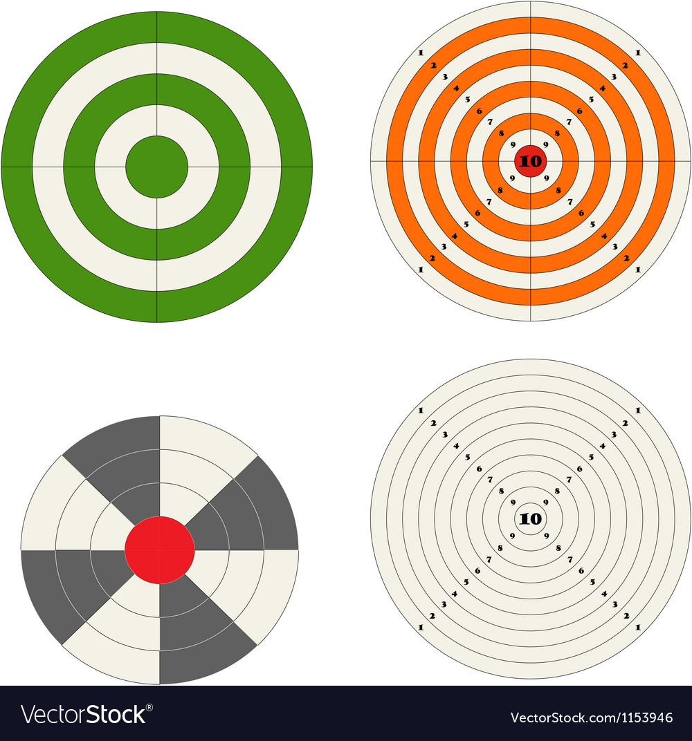 Target collection vector | Price: 1 Credit (USD $1)