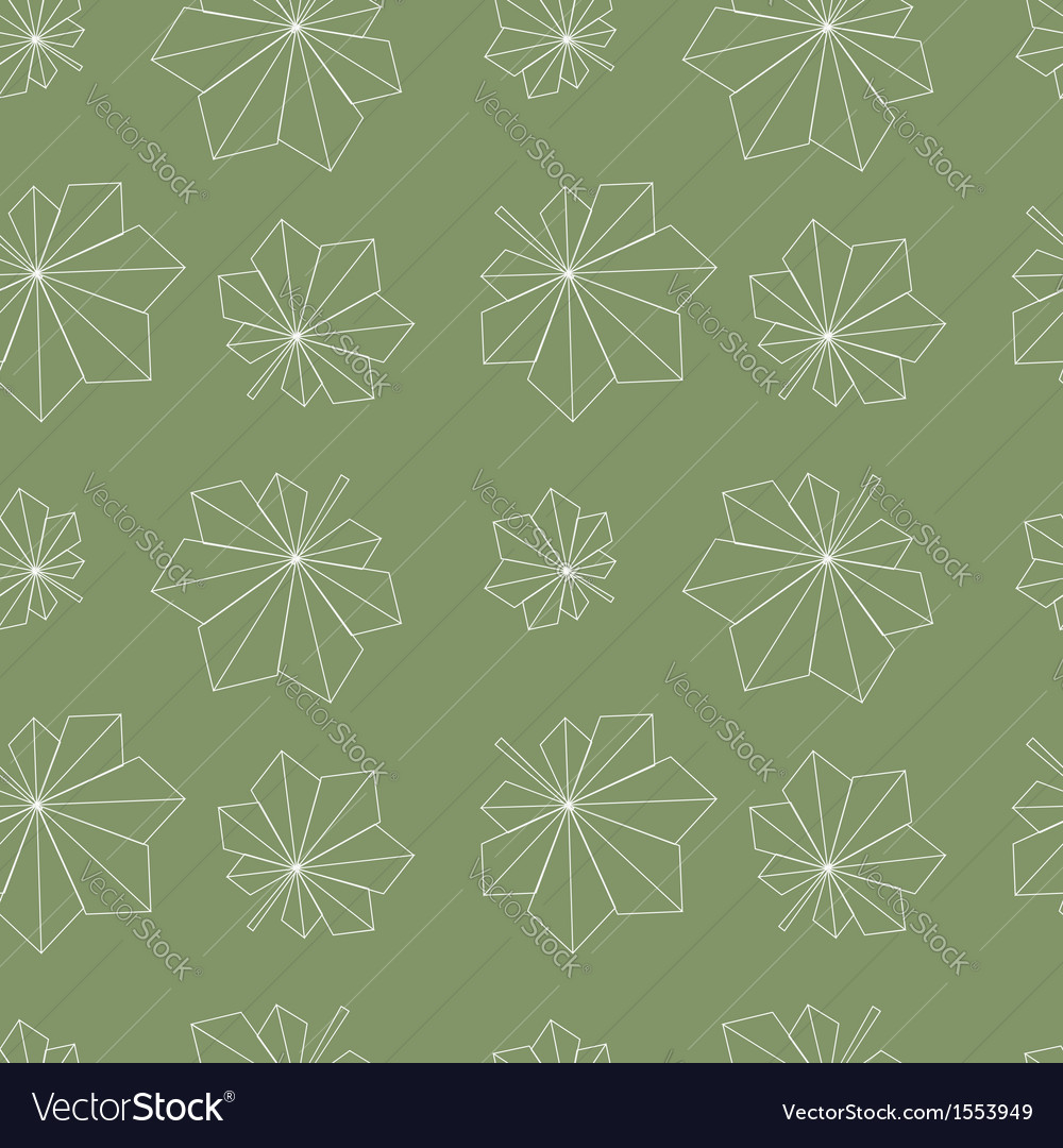 Chestnut leaves pattern vector | Price: 1 Credit (USD $1)