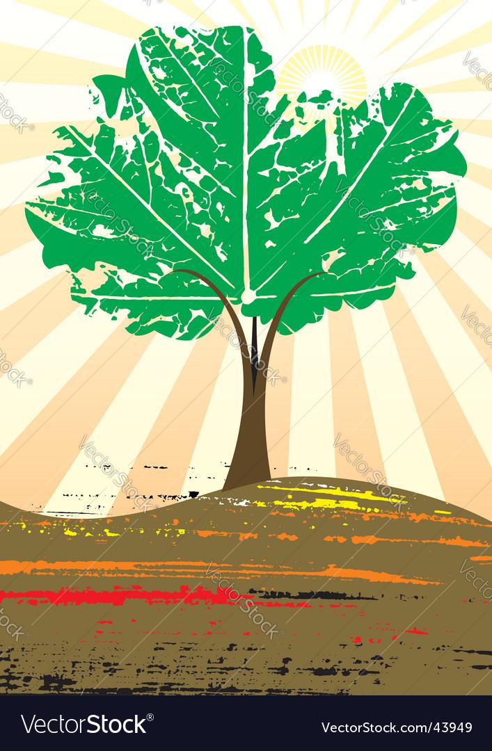 Grunge tree vector   Price: 1 Credit (USD $1)