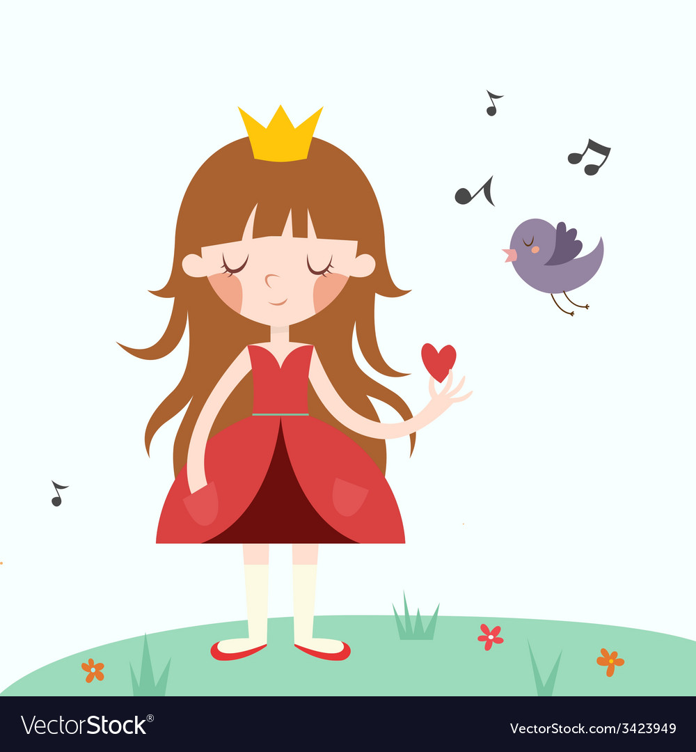 Princess vector | Price: 1 Credit (USD $1)