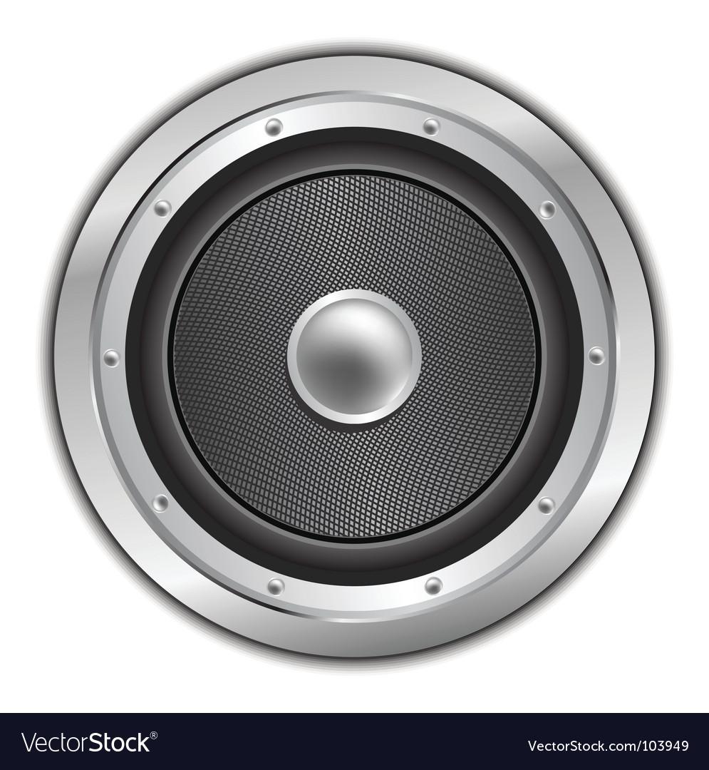 Speaker audio vector   Price: 1 Credit (USD $1)