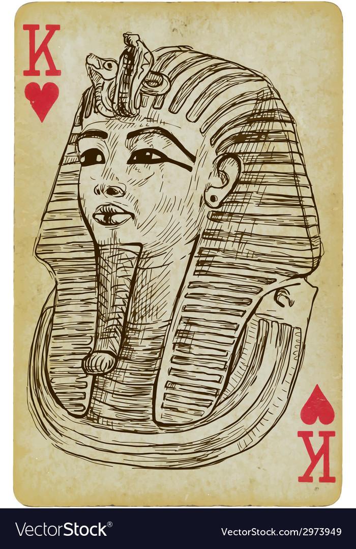 Tutankhamun vector | Price: 1 Credit (USD $1)