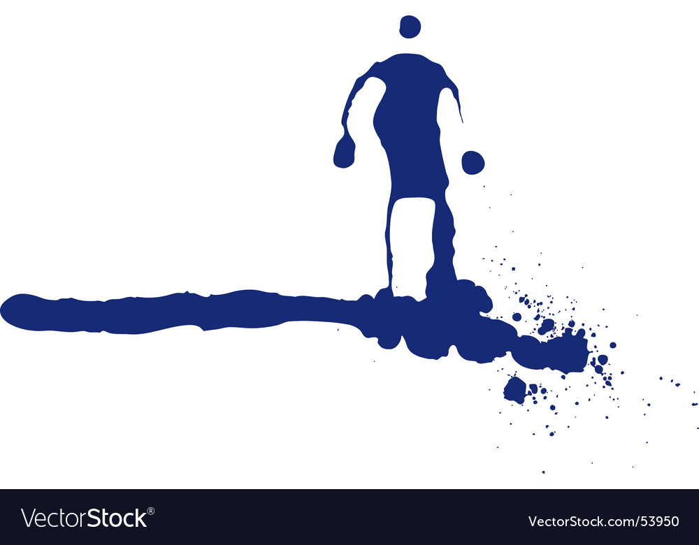 Ink person vector | Price: 1 Credit (USD $1)