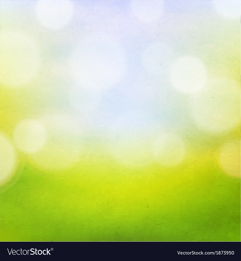 Nature bokeh background vector | Price: 1 Credit (USD $1)