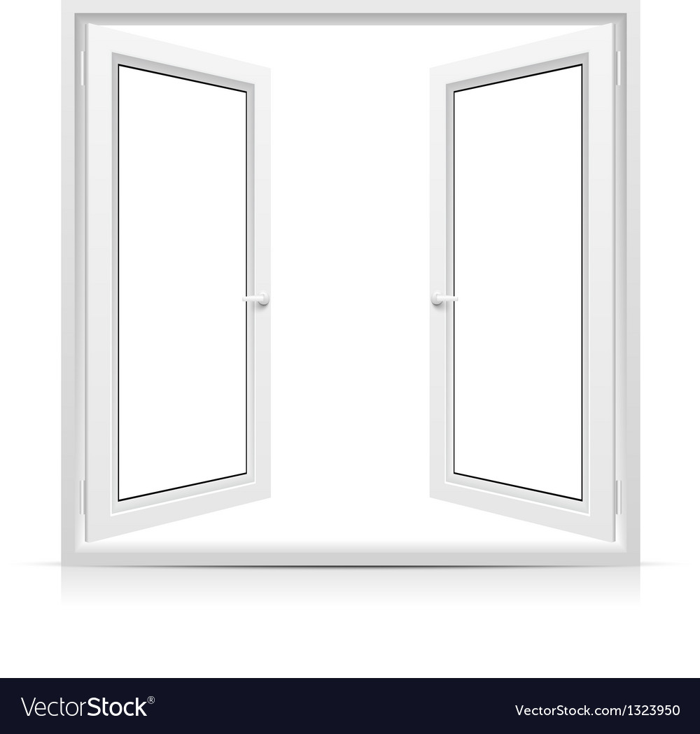 Open window vector | Price: 1 Credit (USD $1)
