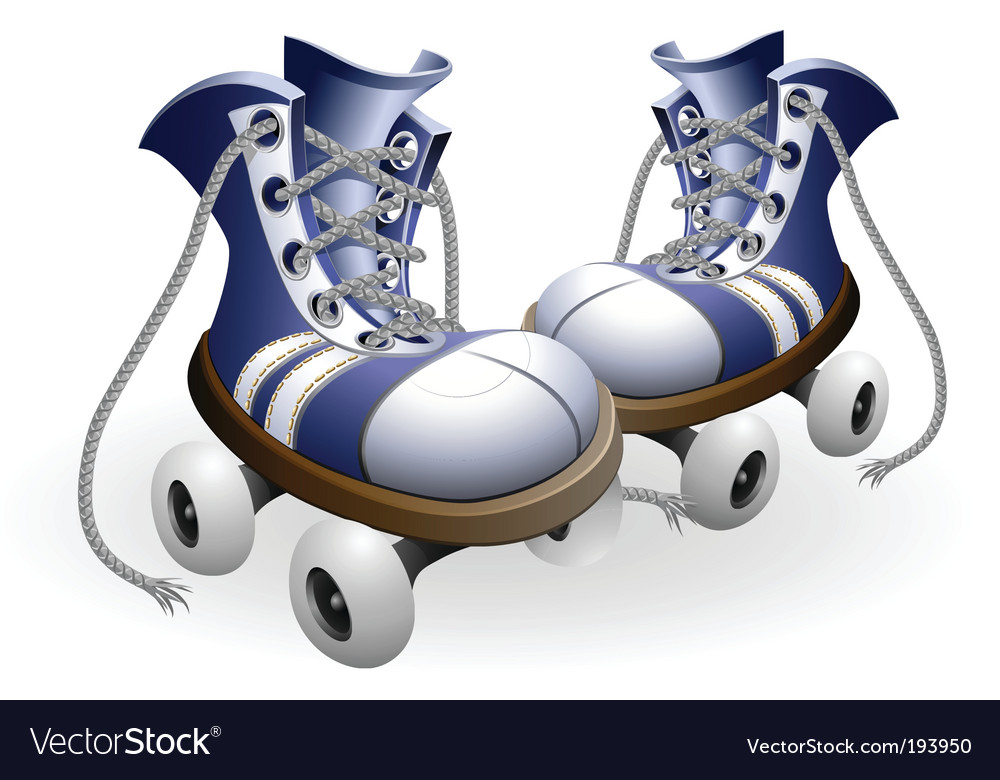 Roller skates vector | Price: 1 Credit (USD $1)