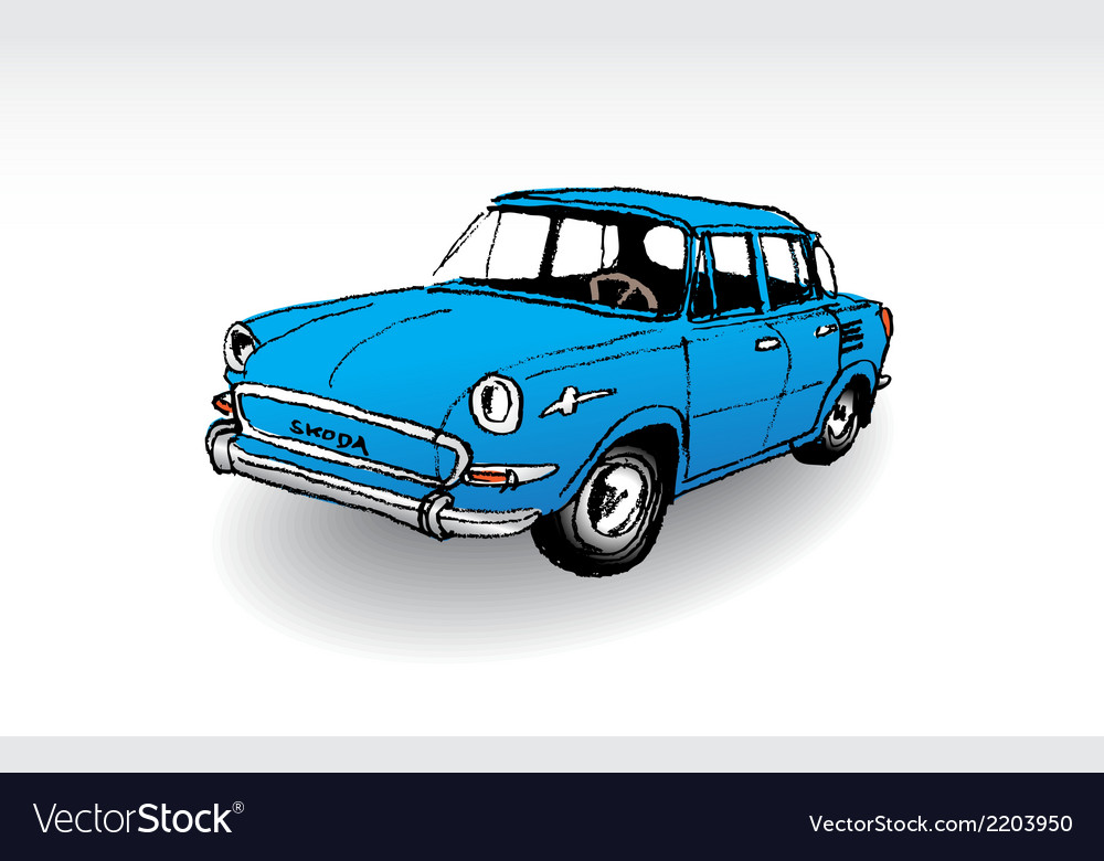 Skoda mb 1000 vector | Price: 1 Credit (USD $1)