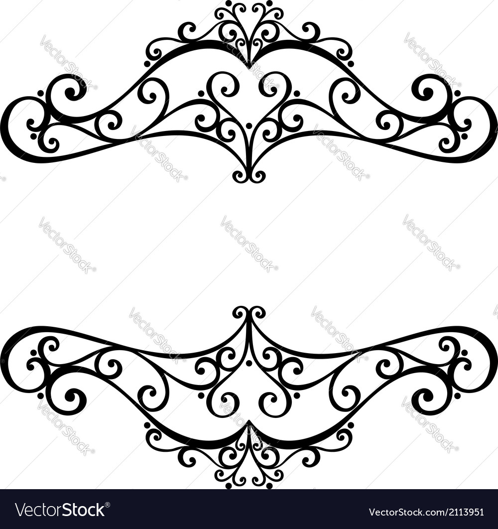 Deco symmetrical element vector | Price: 1 Credit (USD $1)