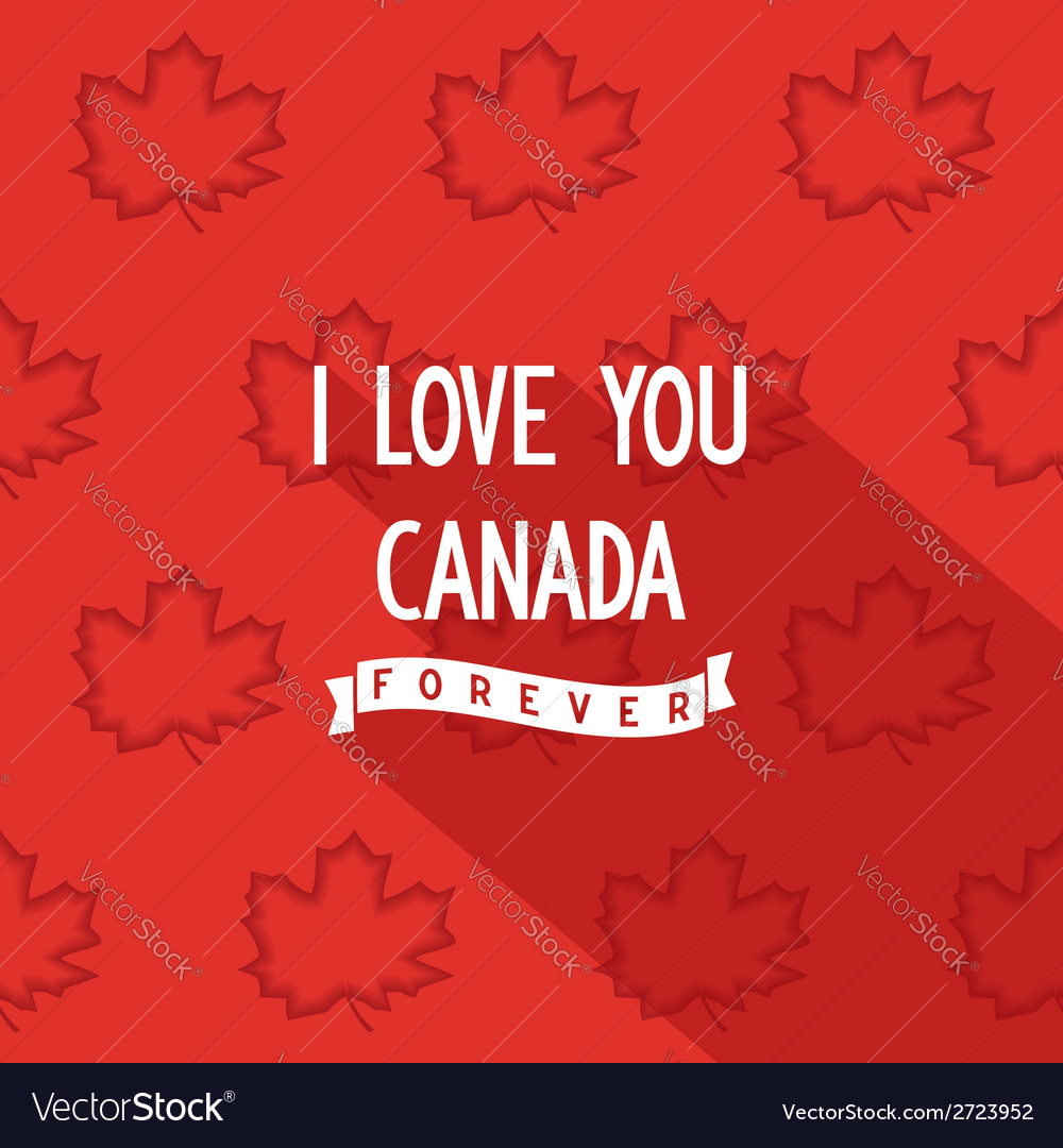 Canadian quote poster design vector | Price: 1 Credit (USD $1)