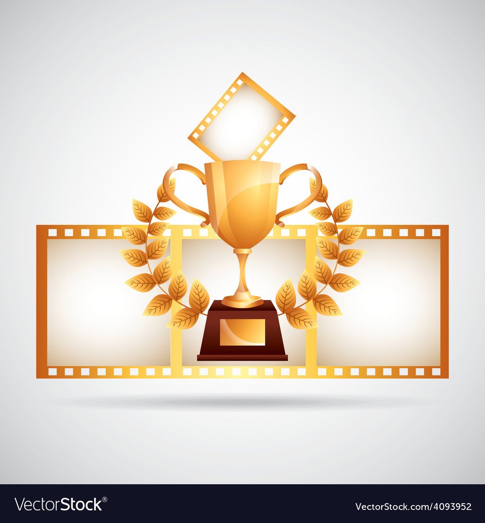 Film award vector | Price: 1 Credit (USD $1)