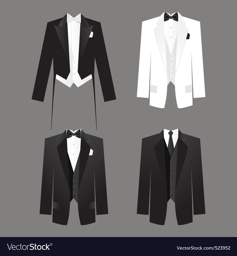 Mens dress code vector | Price: 1 Credit (USD $1)