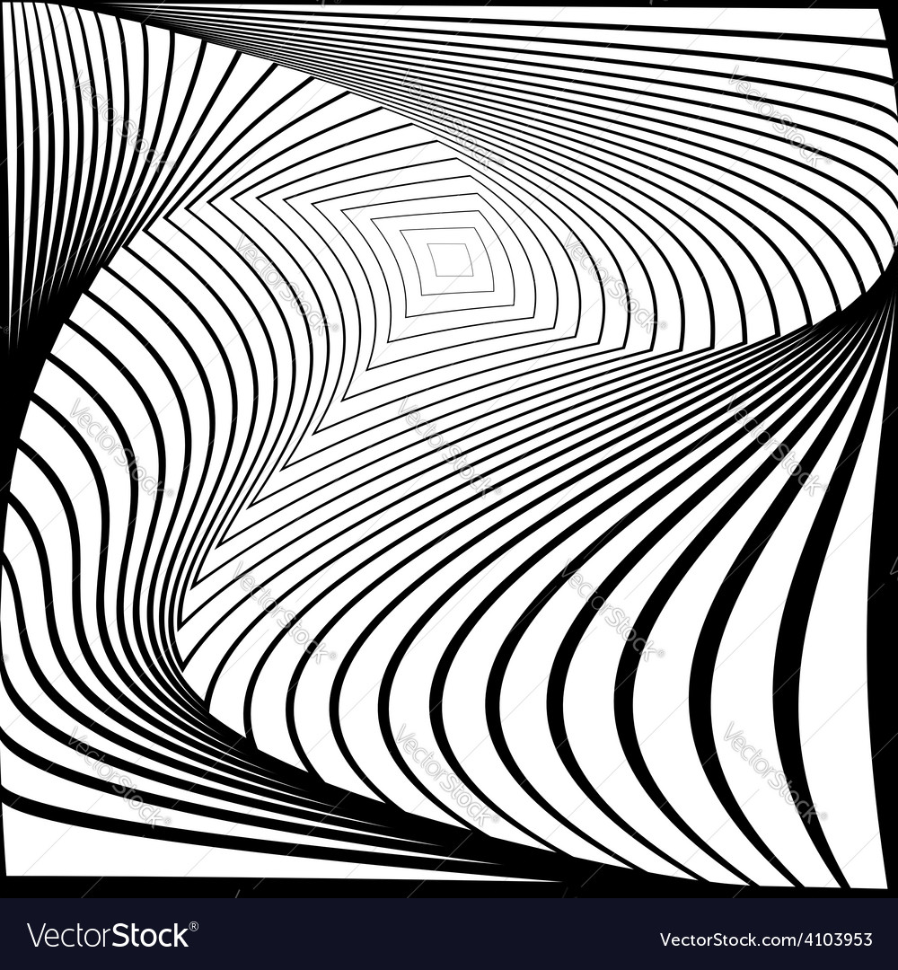 Design monochrome twirl movement background vector | Price: 1 Credit (USD $1)