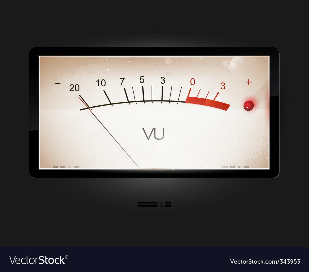 Vu old-style modern scale vector | Price: 1 Credit (USD $1)