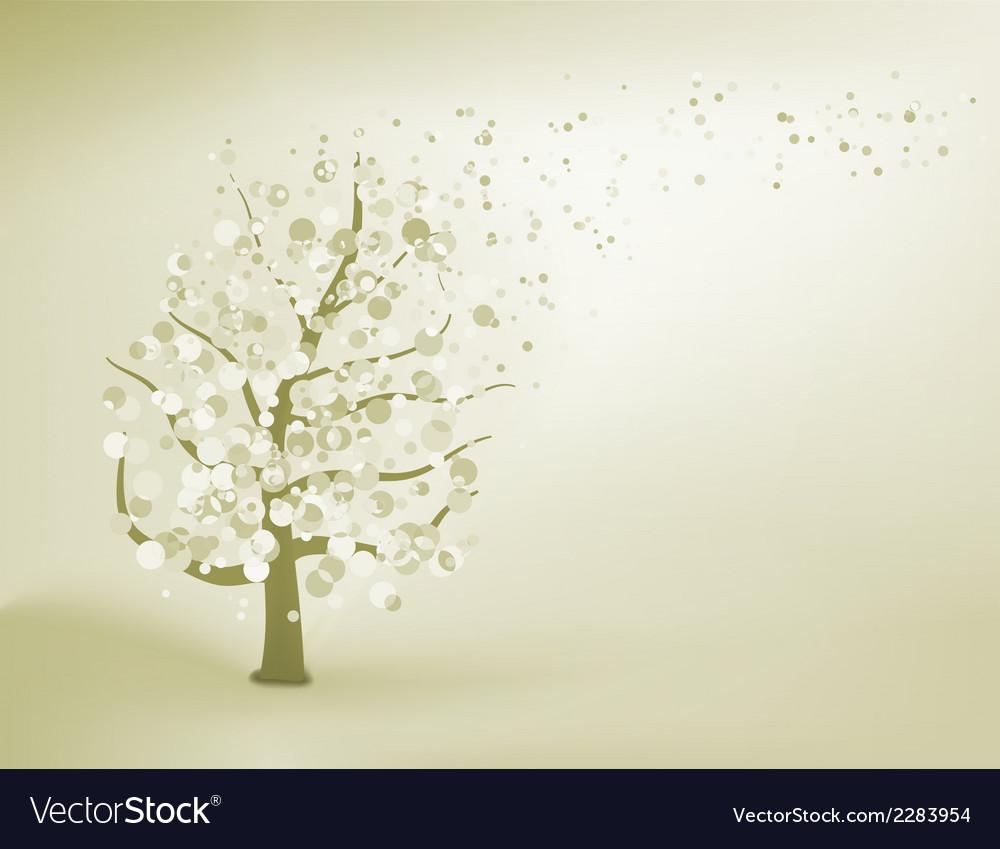 Abstract elegant tree eps 8 vector | Price: 1 Credit (USD $1)