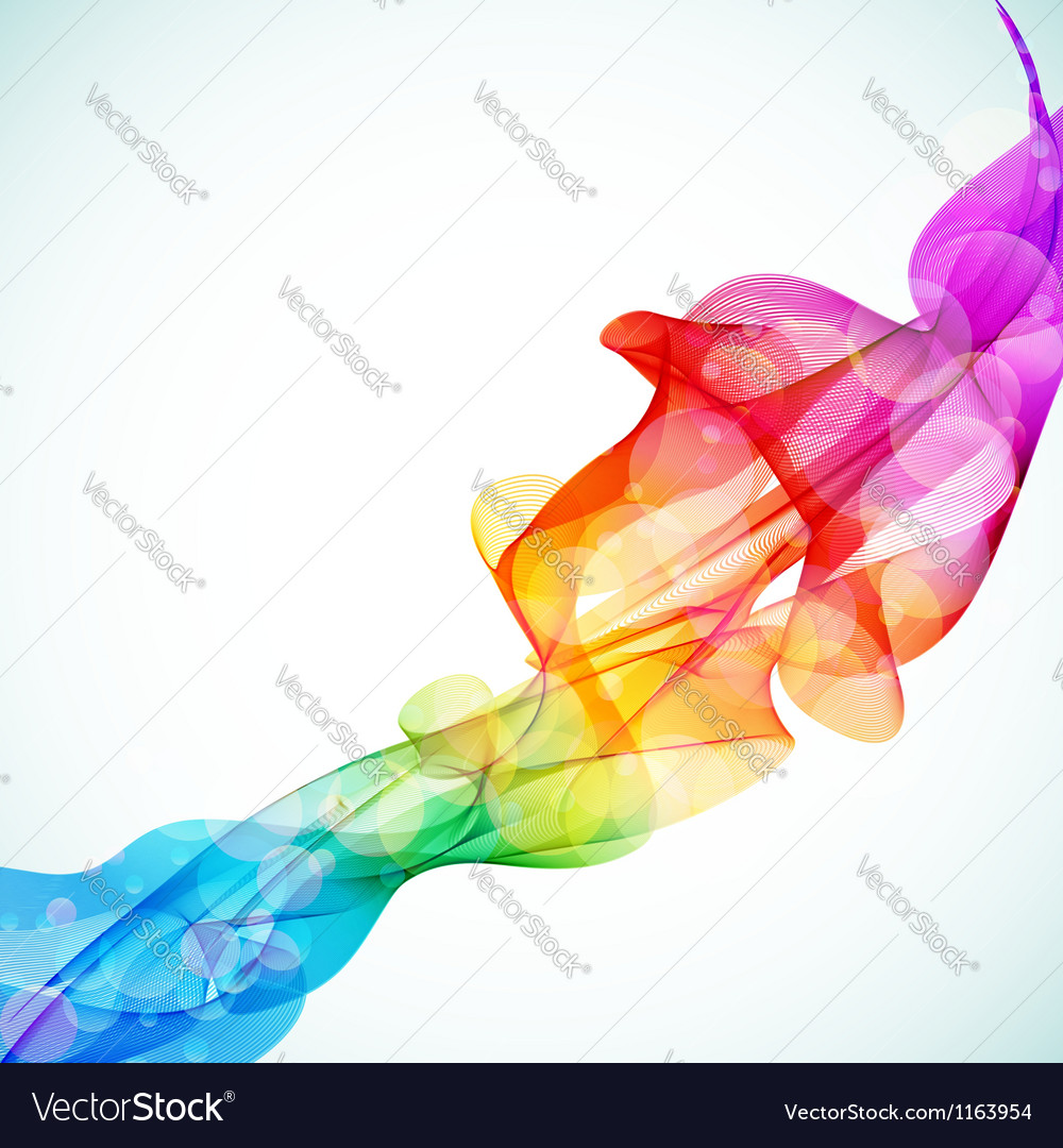 Bright abstract colorful background vector | Price: 1 Credit (USD $1)