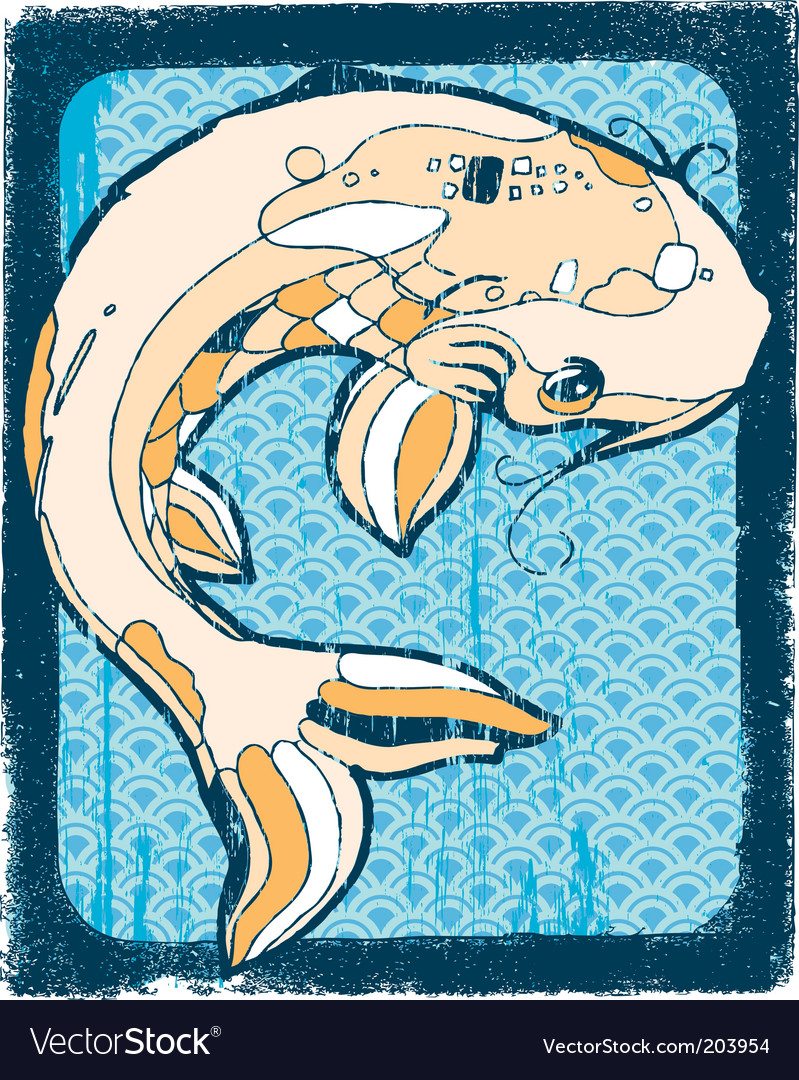 Koi fish vector | Price: 1 Credit (USD $1)