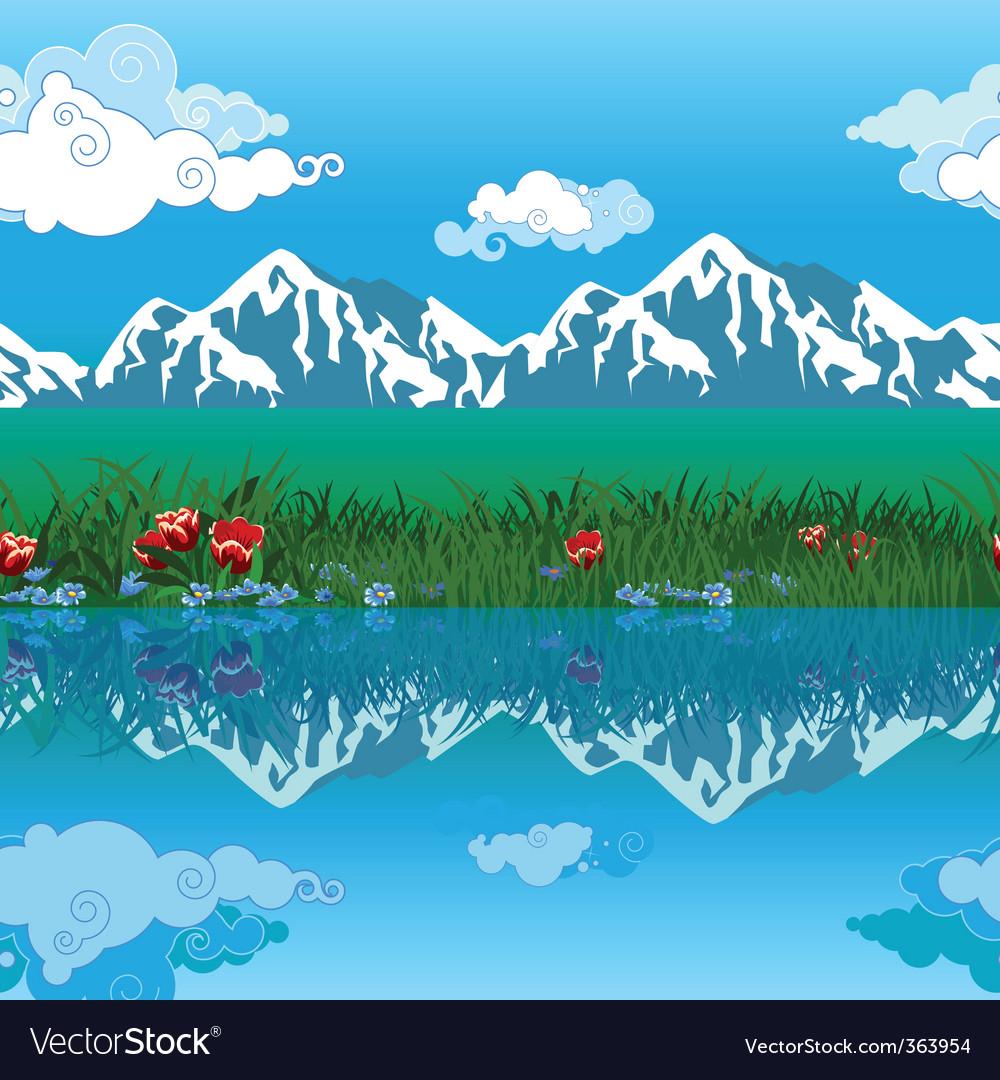 Landscape vector | Price: 3 Credit (USD $3)