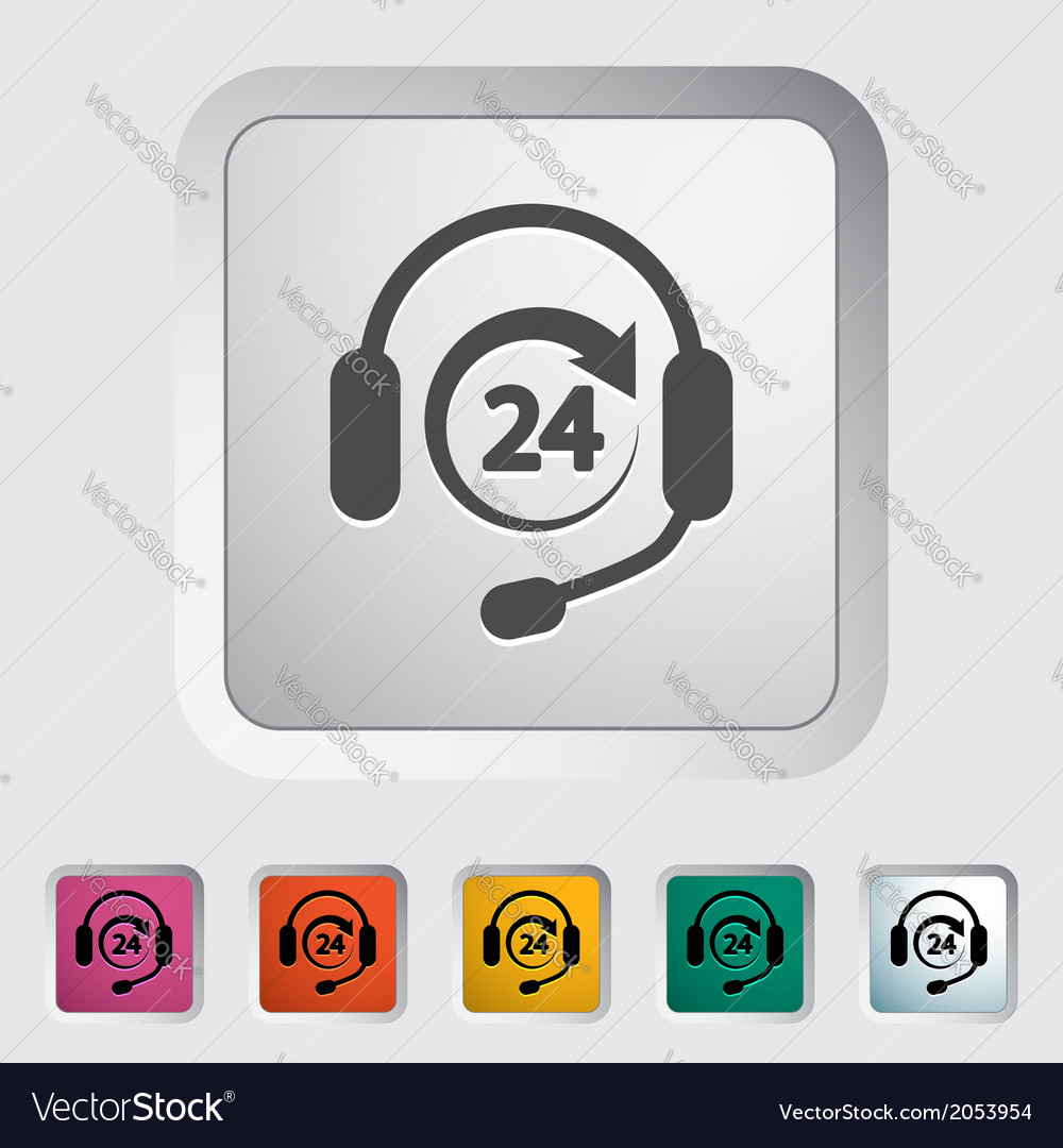 Support 24 hours vector   Price: 1 Credit (USD $1)