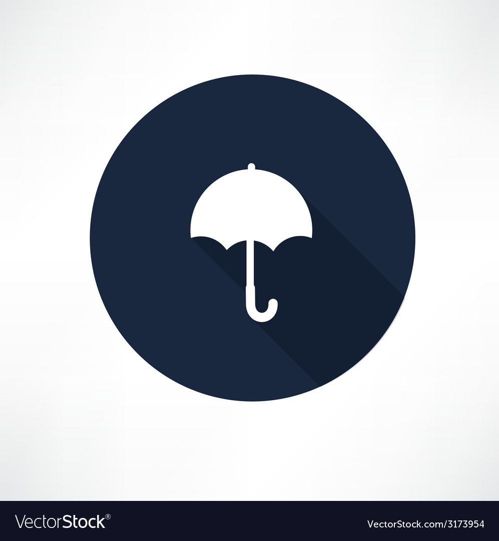 Umbrella - icon vector | Price: 1 Credit (USD $1)