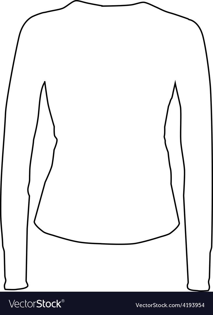 White sport shirt vector | Price: 1 Credit (USD $1)