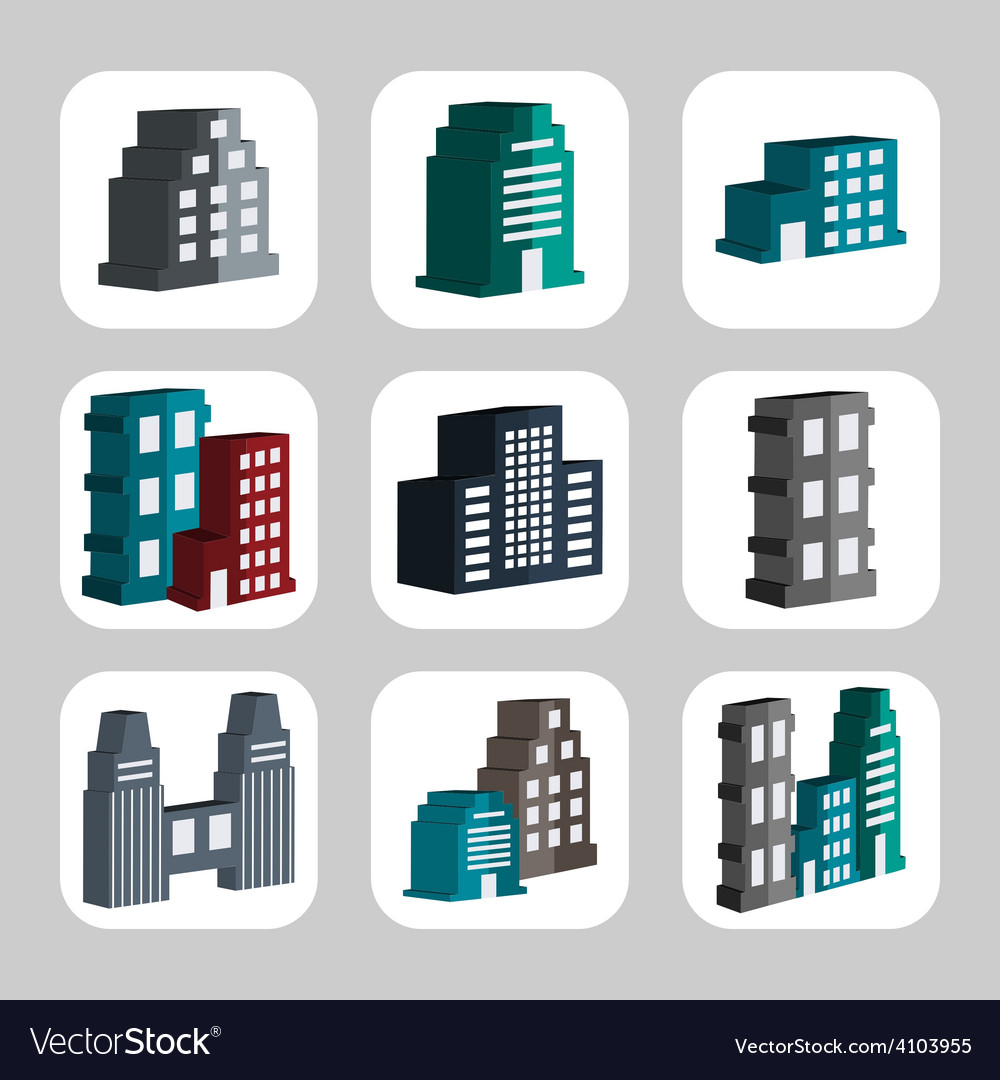 Buildings3 vector | Price: 1 Credit (USD $1)