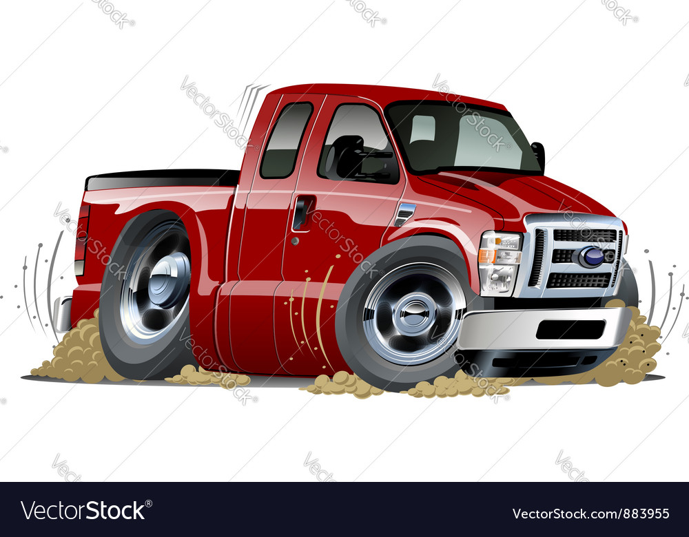 Cartoon muscle pickup vector | Price: 3 Credit (USD $3)