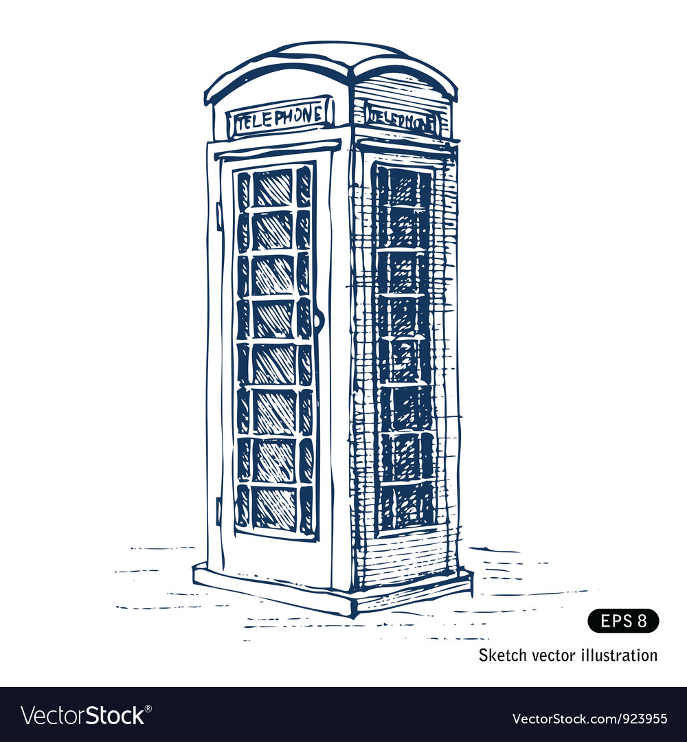 London pay phone vector | Price: 1 Credit (USD $1)