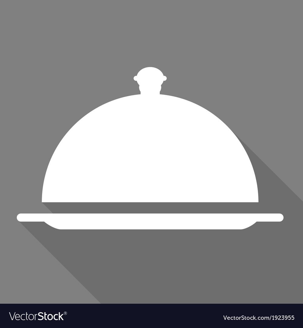 Restaurant cloche icon vector | Price: 1 Credit (USD $1)