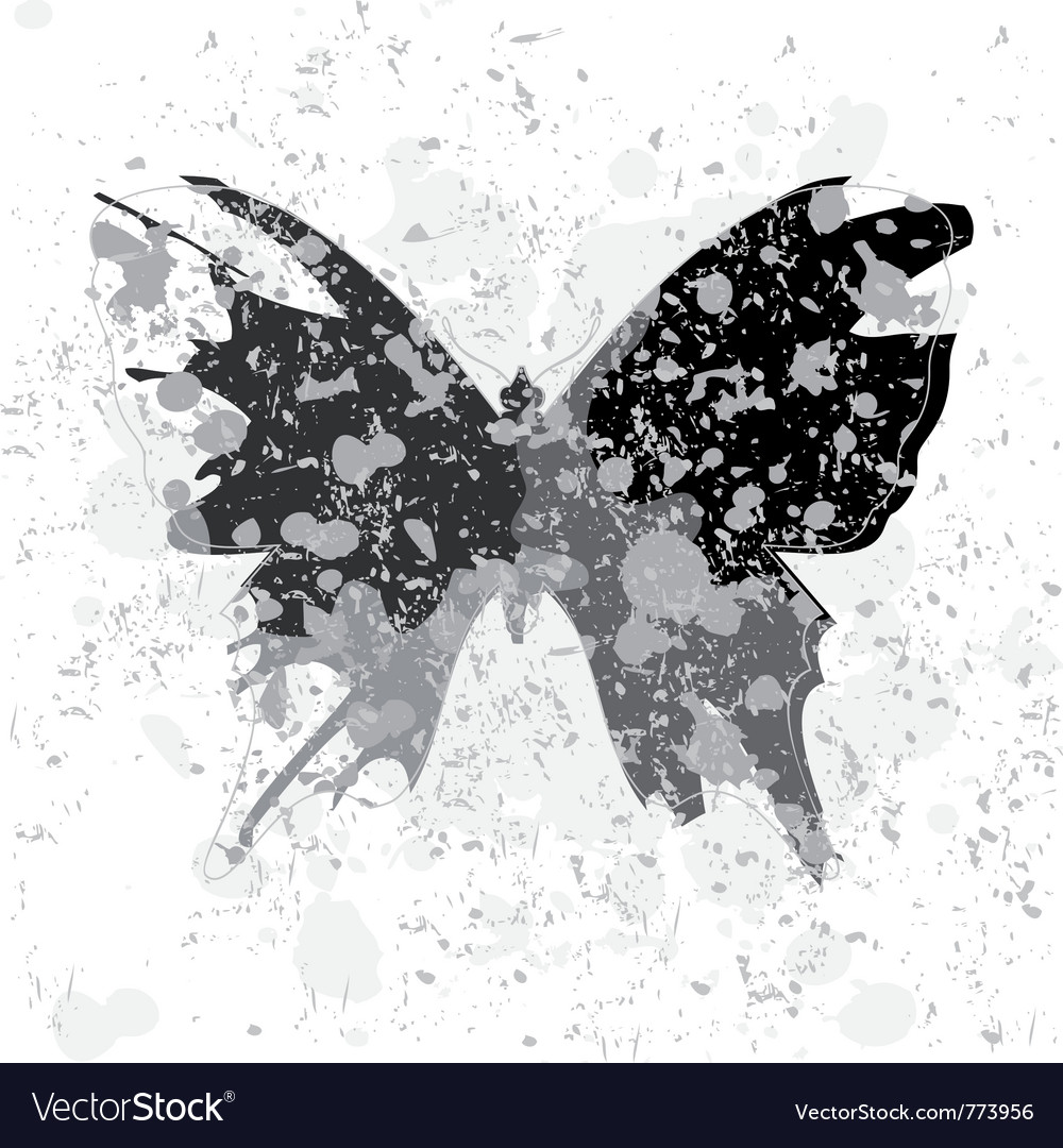 Acid butterfly vector | Price: 1 Credit (USD $1)