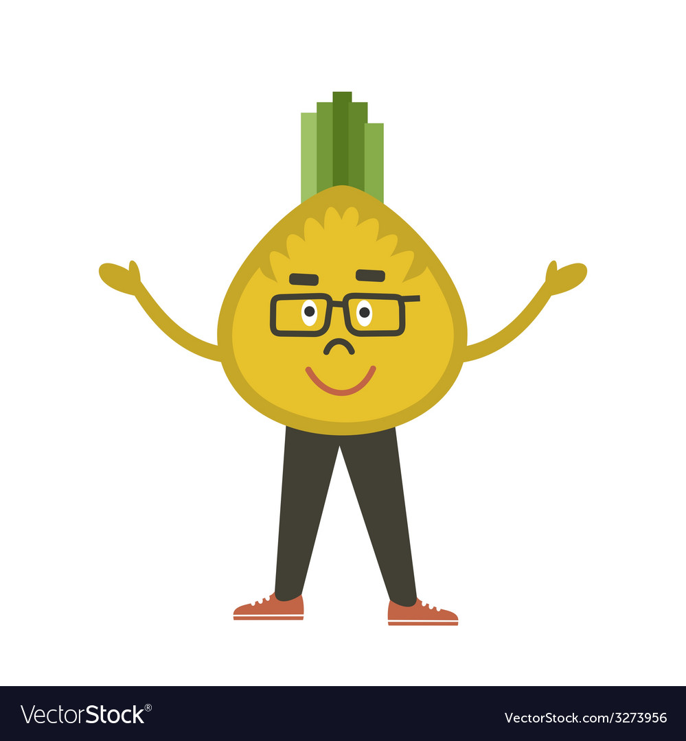 Onions the guy vector | Price: 1 Credit (USD $1)