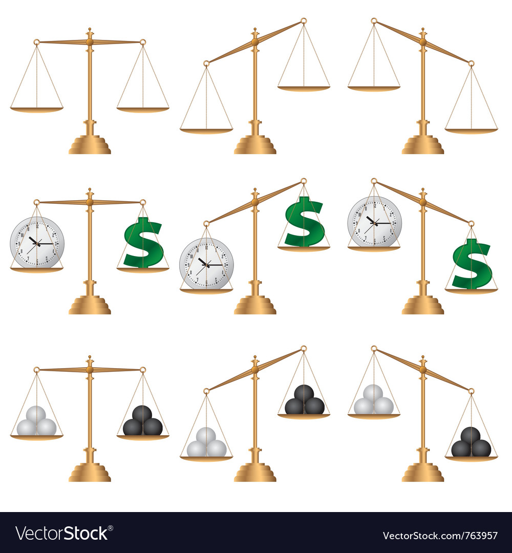 Set of images of scales vector   Price: 1 Credit (USD $1)