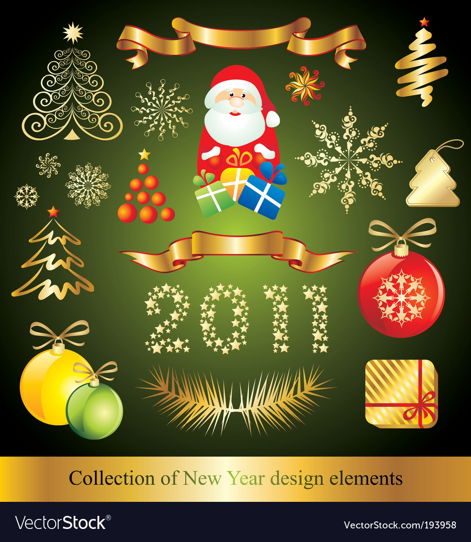 Celebration design elements vector | Price: 1 Credit (USD $1)
