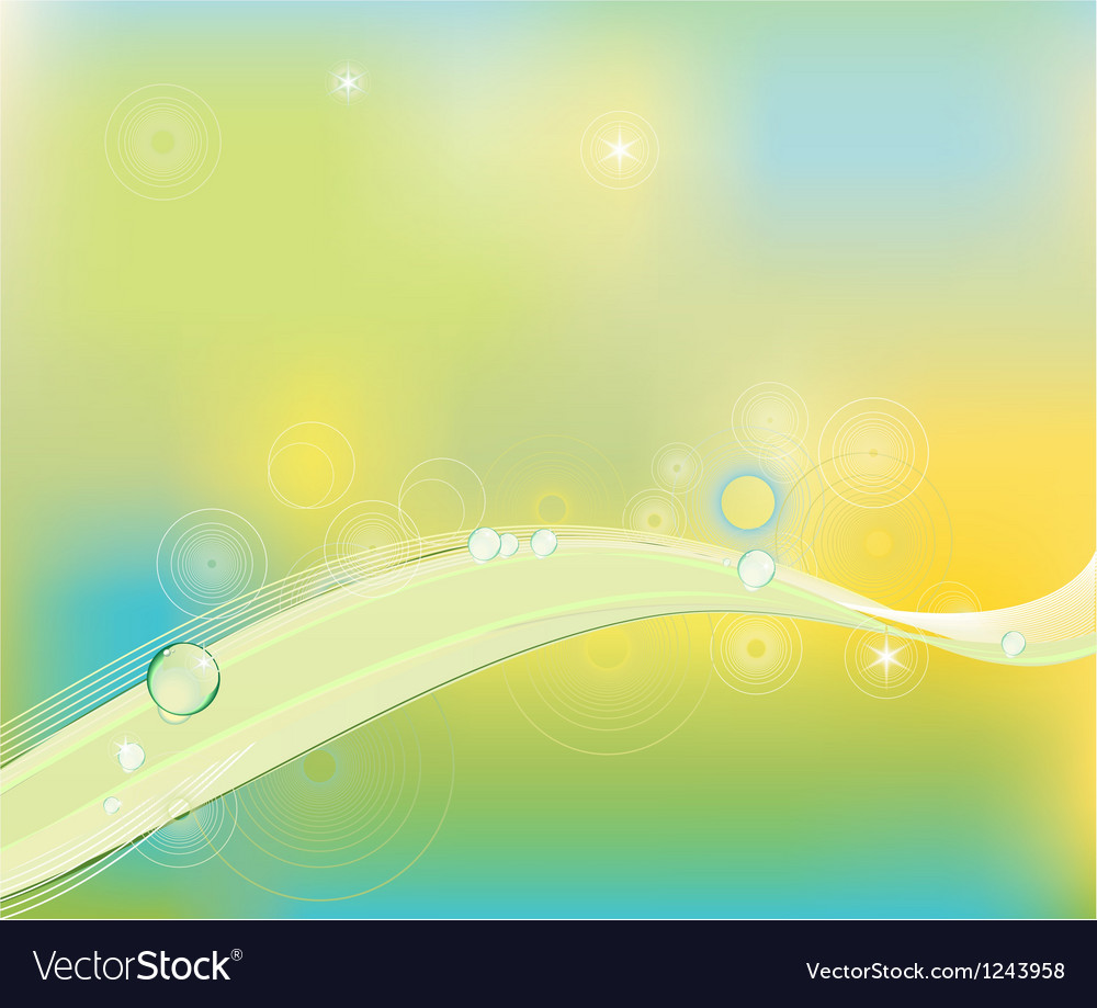 Clip art abstract wave line background vector | Price: 1 Credit (USD $1)