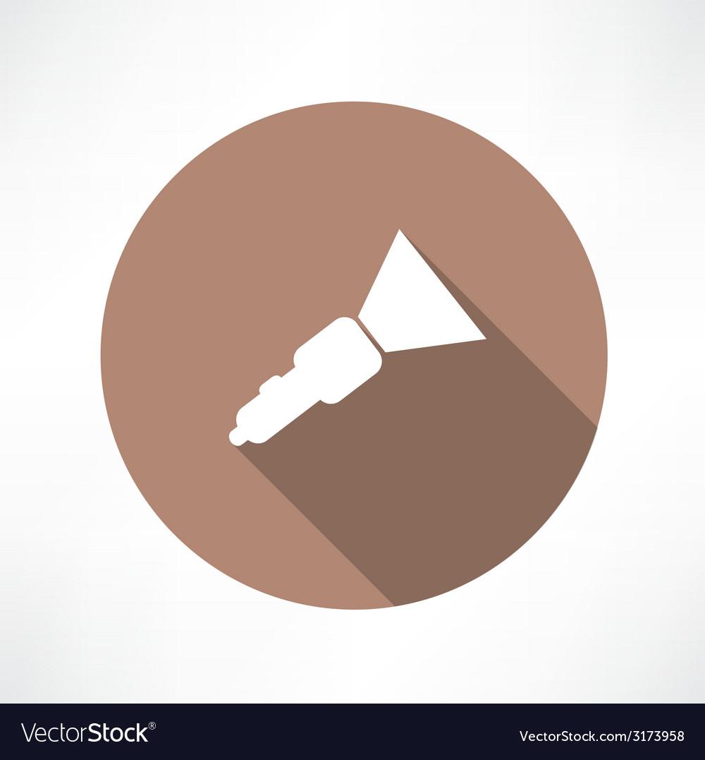 Flashlight icon vector   Price: 1 Credit (USD $1)