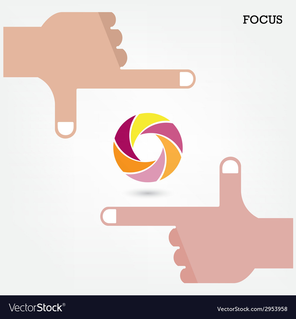 Hands and business vision concept vector | Price: 1 Credit (USD $1)