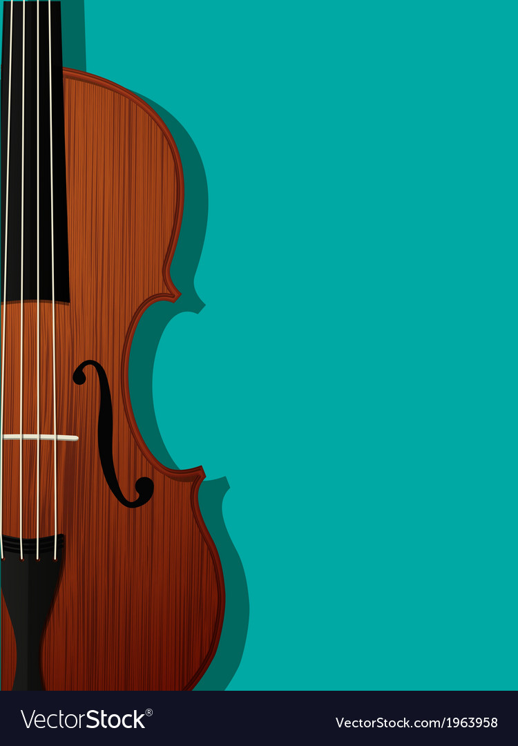 Violin composition vector | Price: 1 Credit (USD $1)