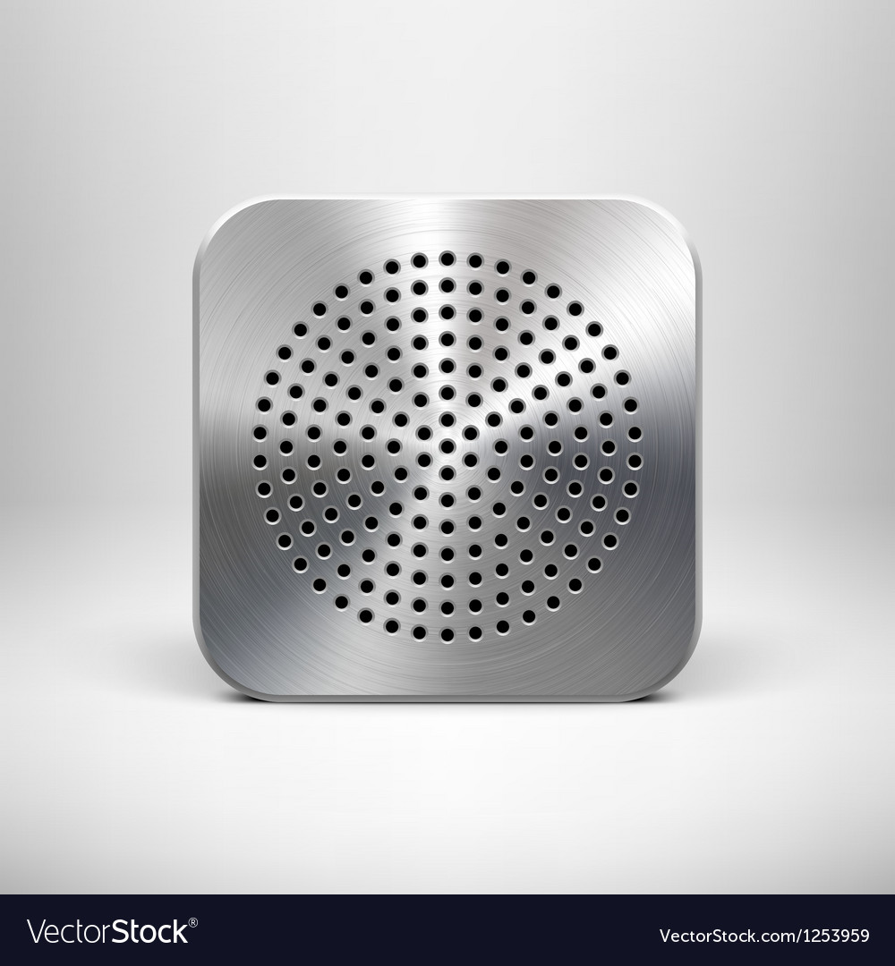 Speaker app icon vector   Price: 1 Credit (USD $1)