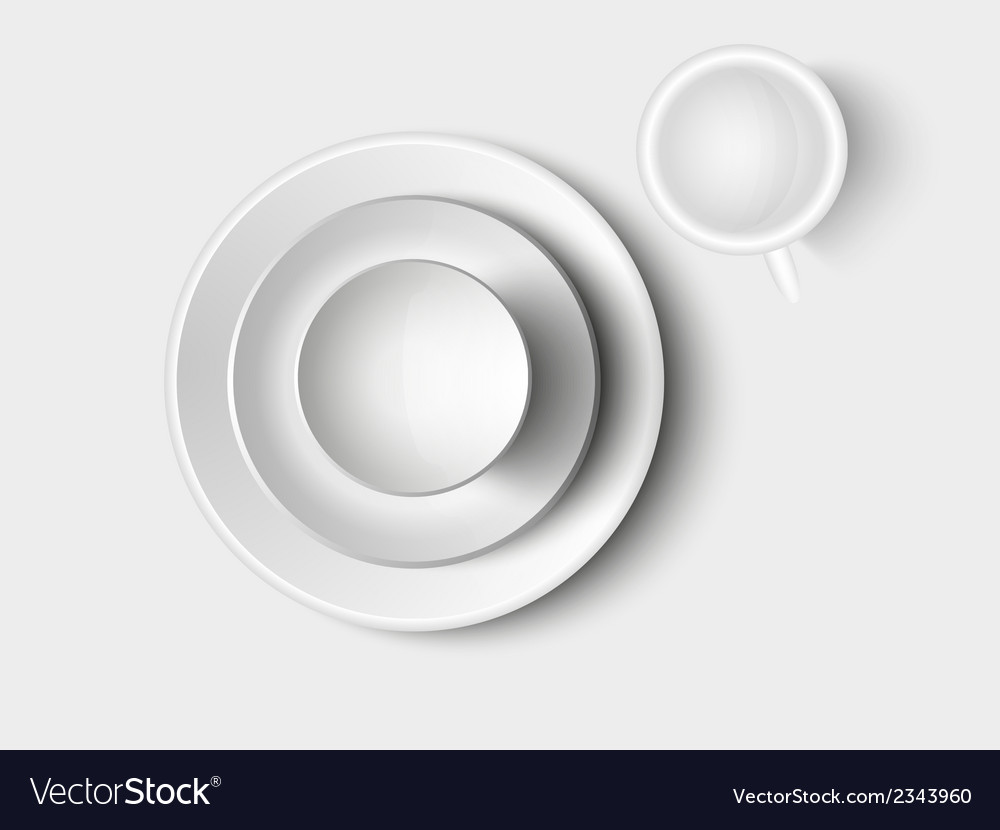 Cutlery and crockery vector | Price: 1 Credit (USD $1)